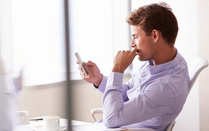 Is It Okay to Send Text Messages to Prospective Clients?